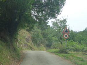 limitación a 30 km hora